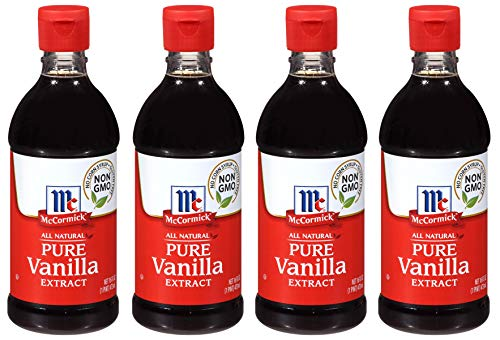 McCormick AACNMJCL All Natural Pure Vanilla Extract, Gluten-Free Vanilla, 4 Pack of 16 Oz by McCormick (Image #7)