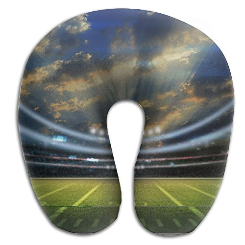 American Football Stadium 3D Comfortable U Type Pillow Neck Pillow Travel Pillows Super Soft Cervical Pillows With Resilient Material -