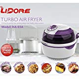 LIDORE 8-Modes Oil-Less Air Fryer.Lavender colored...