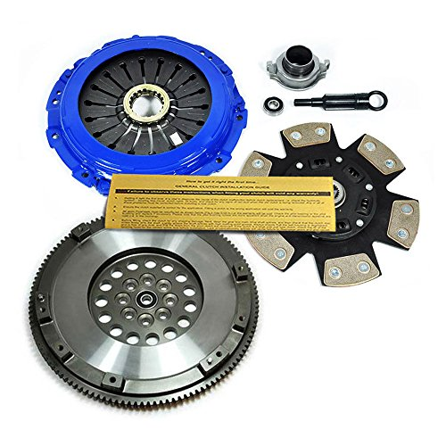 EFT STAGE 3 HD CLUTCH KIT & CHROMOLY FLYWHEEL for SUBARU WRX STI LEGACY GT SPEC.B