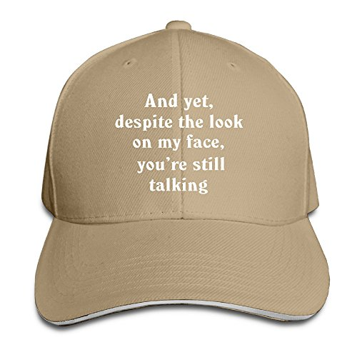 Showyou Still Talking Saying Funny Unisex Cool Snapback Hats ()