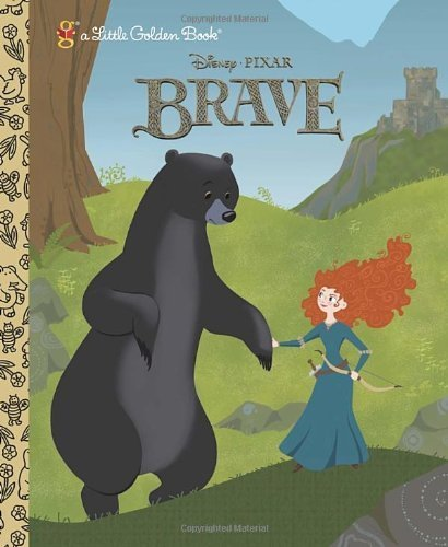 Brave (Little Golden Books (Random House)) by Disney (2012) (Disney Sun Pals)