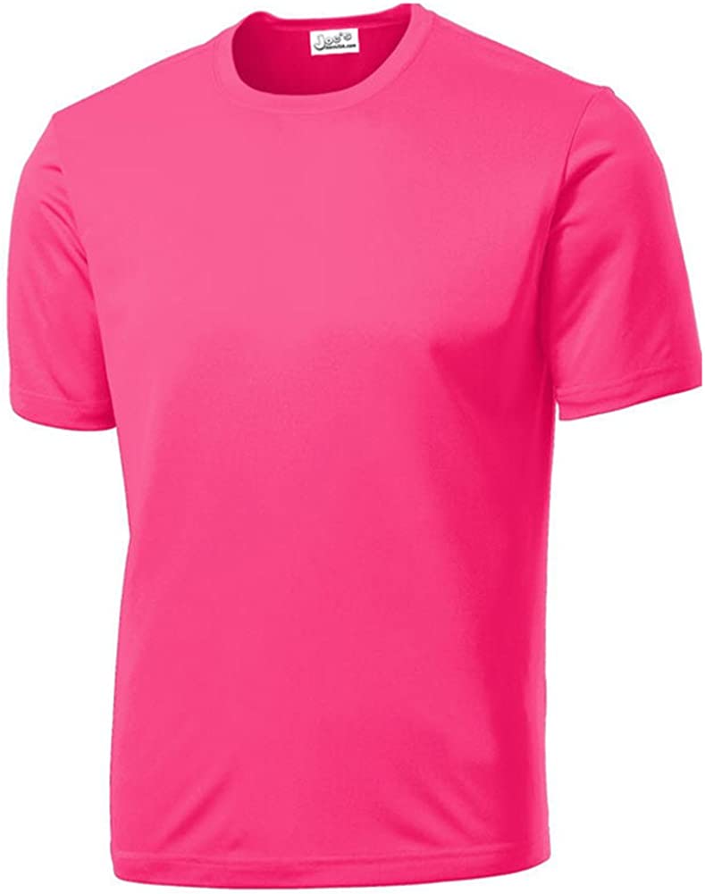 Joe's USA - All Sport Neon Color High Visibility Athletic T-Shirts in Sizes XS-4XL