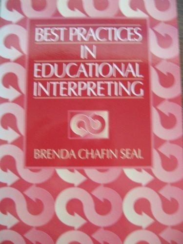 Best Practices in Educational Interpreting