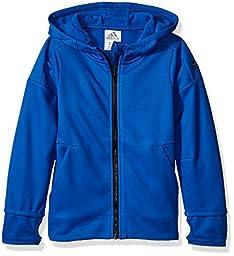 adidas Little Boys\' Toddler Z.N.E. Jacket, Blue, 2T