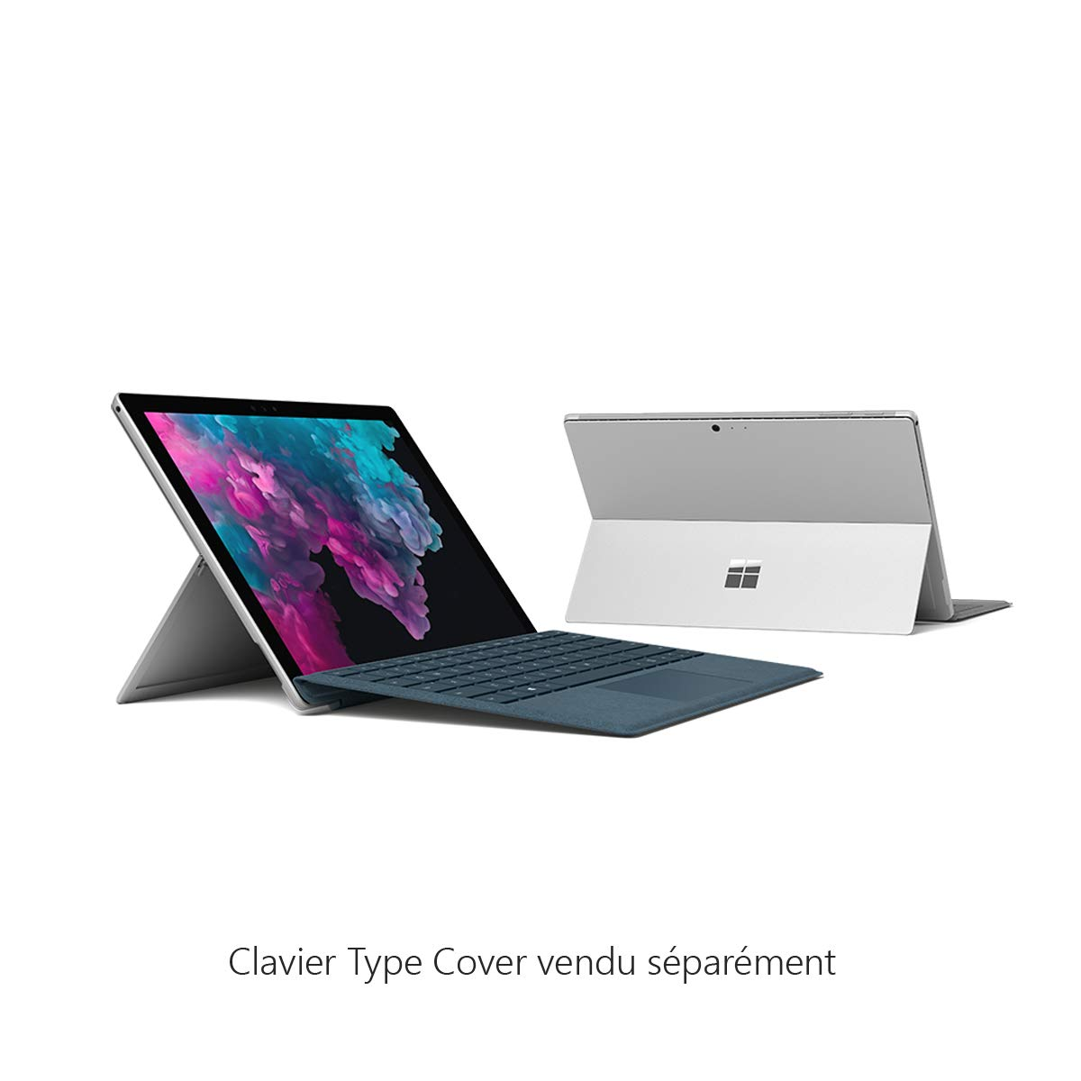 Microsoft Surface Pro 6 core i7, RAM 16 Go, SSD 512 Go, Windows 10 - Noir Sans clavier