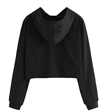 ❤ Sudadera con Capucha Mujeres, Blusa Superior de Manga Larga Casual Jersey Absolute: Amazon.es: Ropa y accesorios