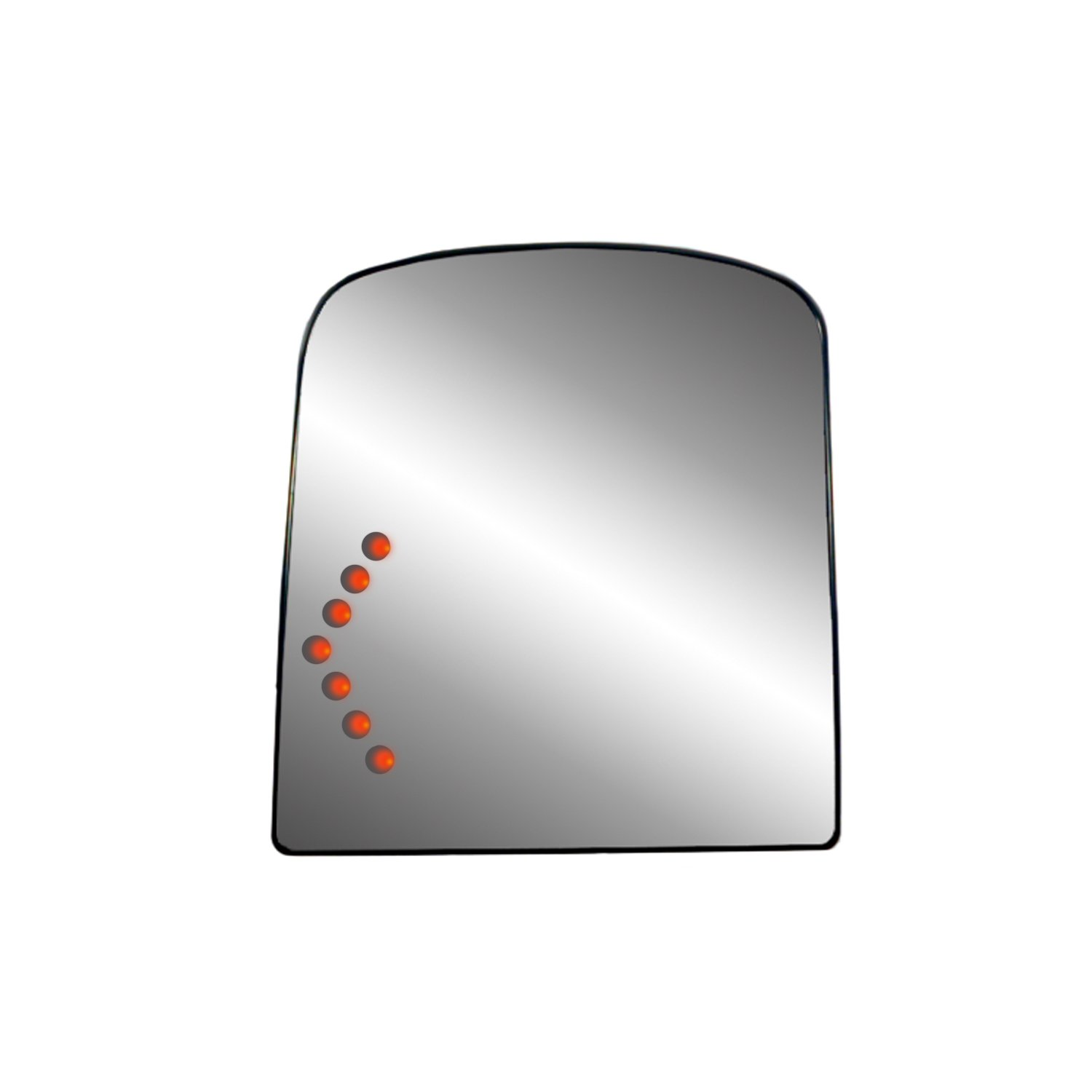 Fit System 44249 Gm Towing Mirror Replacement Glass Umb Wiring Instructions Assembly With Led Turn Signal Automotive