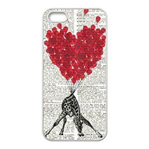 taoyix diy Giraffe Use Your Own Image Phone Case for Iphone 4,4S,customized case cover ygtg561157