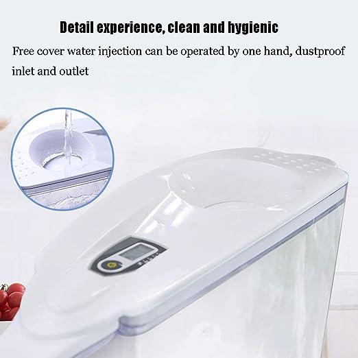 Jenify Jarra de Filtro de Agua Premium 8 Tazas Agua purificada-BPA-Libre, Claro Reducir el Plomo y Otros Metales Pesados Jarra de Filtro: Amazon.es: Hogar