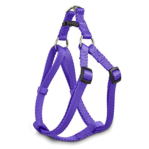 Good2Go Easy Step-In Purple Comfort Dog Harness, Small