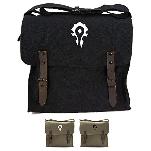 World of Warcraft Horde Army Heavyweight Canvas Medic Shoulder Bag
