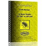 Parts Manual Caterpillar 22 Grader S/N 3H1-3H751