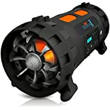 Pyle Outdoor/Surround Powerful Bluetooth Speaker Set of 1 Black (PBMSPG200V2)