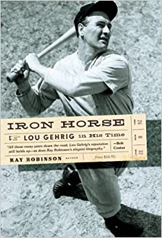 Image result for lou gehrig the iron horse book