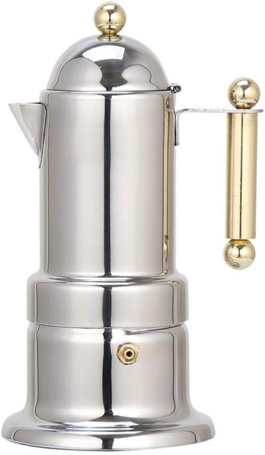 Bloomma Cafetera Espresso Stove Top, Acero Inoxidable, 200 ml, 4 ...