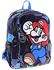Super Mario 16 inch Backpack - Black