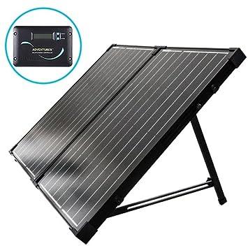 Renogy Portátil Plegable Solar Monocristalino Panel Solar con 30A Controlador