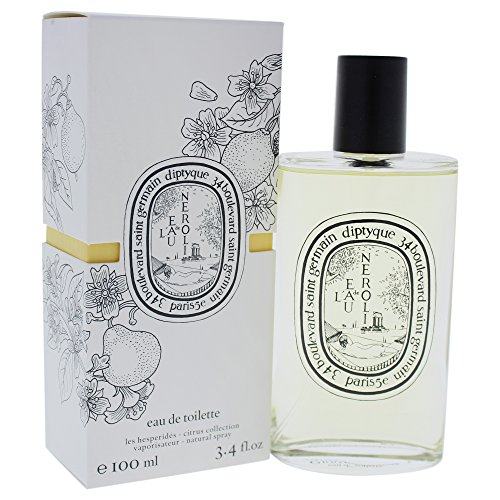 Diptyque L Eau De Toilette Spray for Women, Neroli, 3.4 Ounce