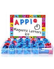 Magnetic Letters Kit, Classroom Magnets 238 Pcs With Large Double-Side Magnet Board And Storage Box, Foam Alphabet Abc For Preschool Kids Learning Spelling - Classroom & Home Education