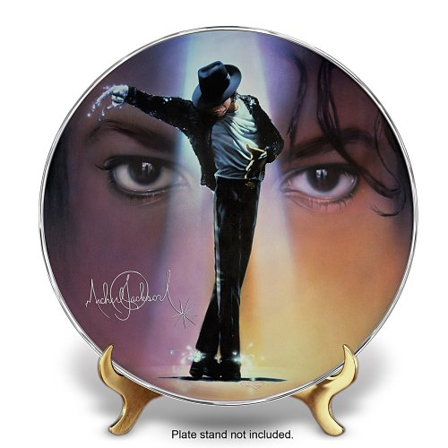 Michael Jackson Collector Plate by The Bradford (Bradford Exchange Collector)