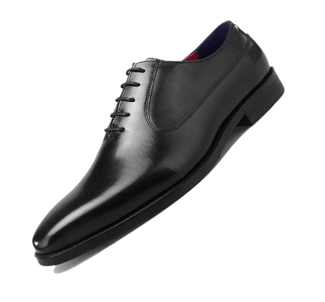 zmlsc Adulte Chaussures en Cuir Derby Britannique Gentleman
