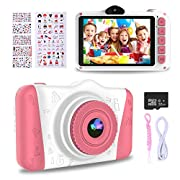 WOWGO Kids Digital Camera – 12MP Children's Selfie Camera with 3.5 Inches Large Screen for Boys and Girls,1080P…
