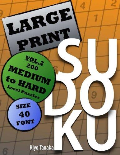 Large Print Sudoku Medium Puzzles product image