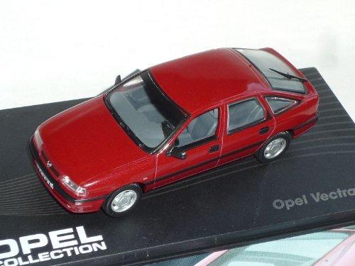 Ixo Opel Vectra A Gl Rot 1988-1995 inkl Zeitschrift 1//43 Modell Auto Modellauto