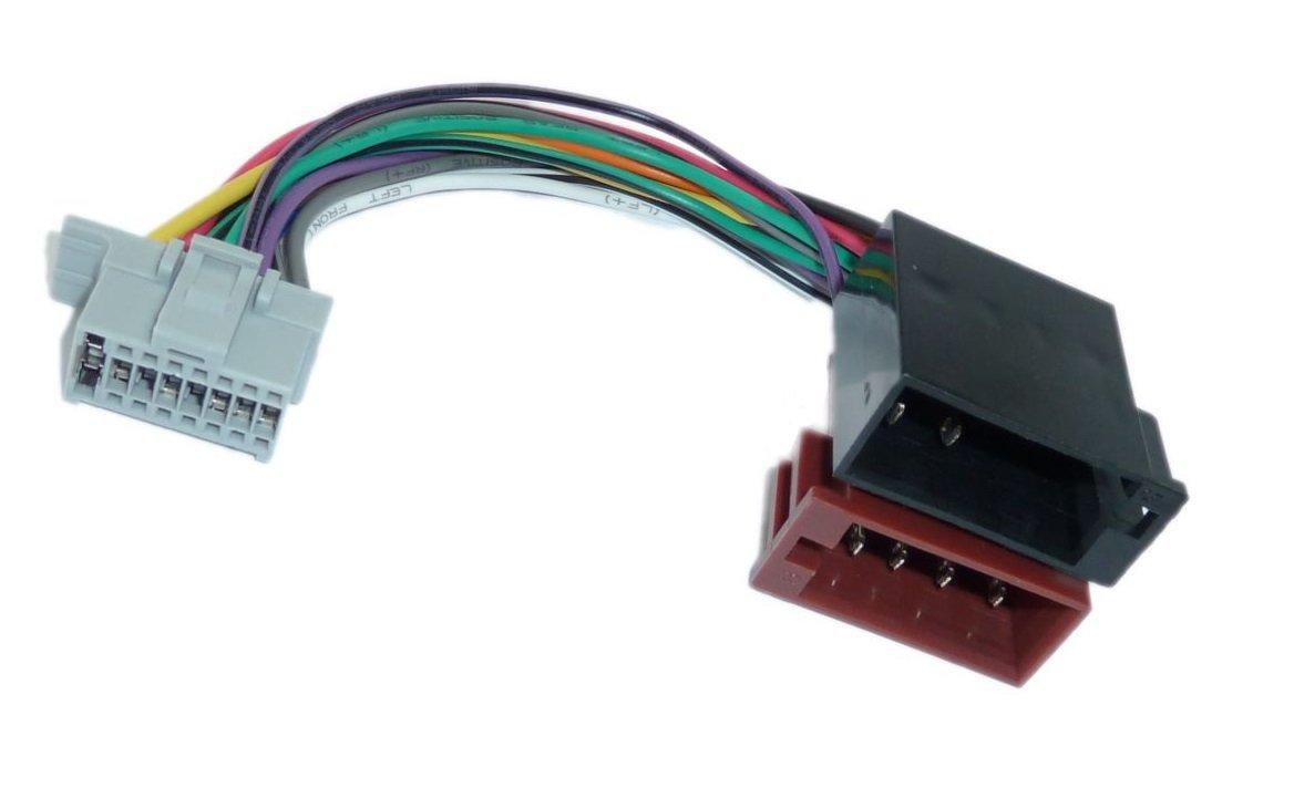 Panasonic DIN ISO Auto Radio Adaptador Cable conector Adapter-Universe 1020