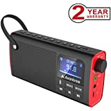 Avantree 3-in-1 Portable FM Radio with Wireless Speaker and SD Card Player, Auto Scan & Save, LED display, Rechargeable Battery - SP850