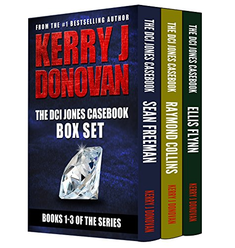 The DCI Jones Casebook Box Set: Books 1-3 in the Casebook Series cover