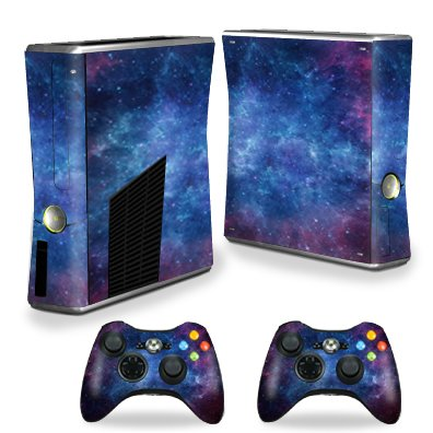360 Xbox Skin - MightySkins Skin For X-Box 360 Xbox 360 S console - Nebula | Protective, Durable, and Unique Vinyl Decal wrap cover | Easy To Apply, Remove, and Change Styles | Made in the USA