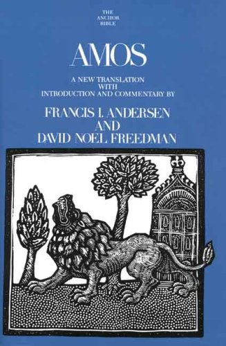 Amos (The Anchor Yale Bible Commentaries)