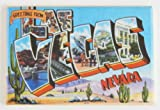 Greetings From Las Vegas Nevada Fridge Magnet (2 x 3 inches)