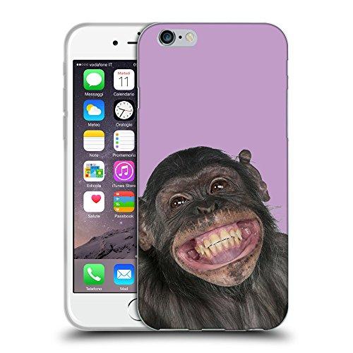 """GoGoMobile Coque de Protection TPU Silicone Case pour // Q05620617 grand sourire Ube luminoso // Apple iPhone 6 4.7"""""""