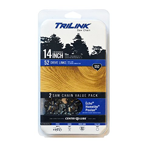 Trilink Saw Chain CL15052X2TL2 14'' Chain S52 Twin Pack TL by Trilink Saw Chain