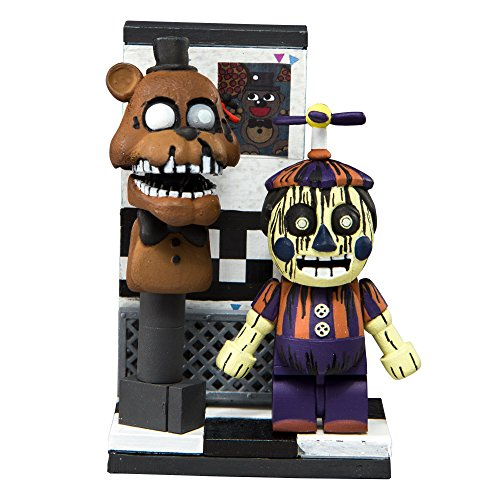 (McFarlane Toys Five Nights at Freddy's Office Hallway Micro Construction Set)