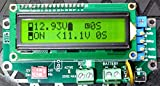 "1 Universal Relay Voltage Triggered Load Controller ""With DELAYS, Circuit Board Only!"" 1URVTLC-1224-B (Green LCD)"