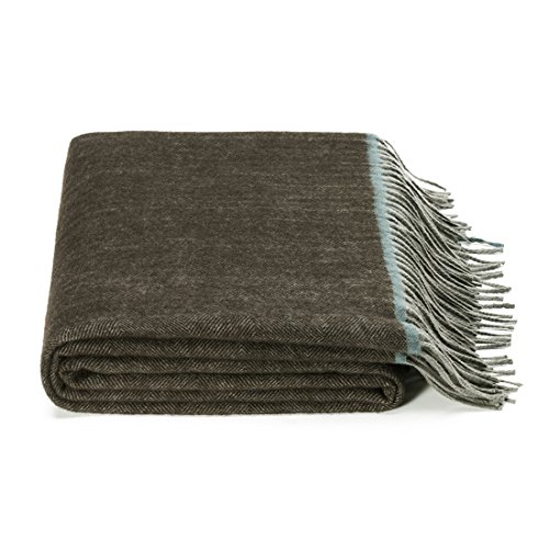 ft Blanket Wool Throw Australian 100 Natural Wool Blanket Light and Breathability Blanket Soft Throw ()
