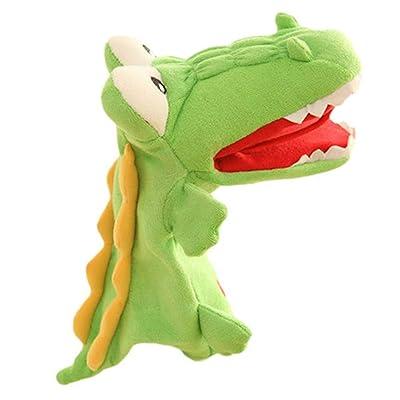 Lfives-toy Marionetas de Mano Aliviar Ventrilo Marioneta Animal Mano Marioneta Guantes de Juguete Puede Mover muñecas Niños Regalos para niños, niños, Juegos, Aprender, Historia, jug: Hogar