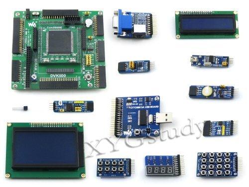 Pack 2  Open3s500e B Xilinx Xc3s500e Spartan 3E Fpga Development Board   Lcd1602   Lcd12864   12 Kits  Xyg