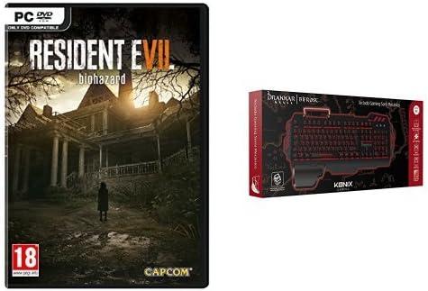 Resident Evil 7: Biohazard + Konix Bifrost - Teclado semi mecánico, color negro: Amazon.es: Videojuegos
