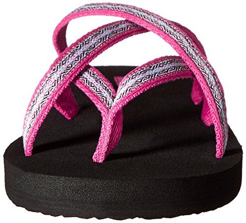 Teva Dames Olowahu Flip-flop Pintado Raspberry