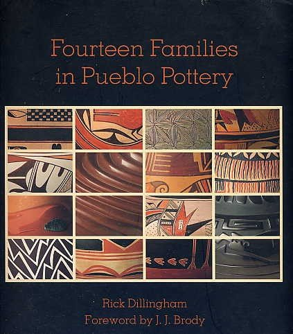 Zia Pueblo Pottery - Fourteen Families in Pueblo Pottery