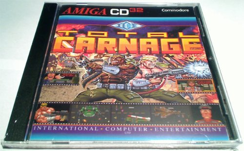 Total Carnage Amiga CD32: Amazon co uk: PC & Video Games