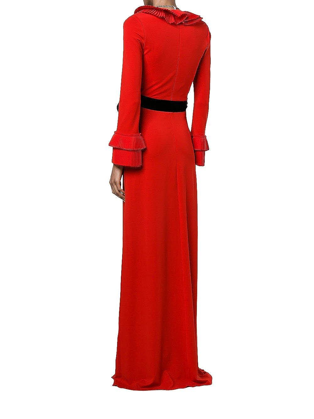 Gucci Mujer 457047X5L616587 Rojo Viscosa Vestido: Amazon.es: Ropa y accesorios