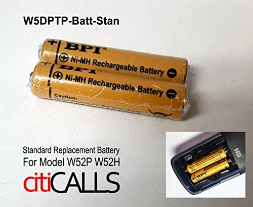 W52-BATT-Standard Replacement Battery for Yealink W52P W52H DECT Phone by Yealink