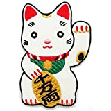 Japan Lucky Cat [Maneki-neko] Iron on Patch for kid - 6Patch by 6Patch