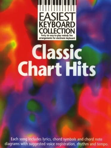 Easiest Keyboard Collection: Classic Chart Hits. Partituras ...